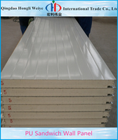 cladding metal sheet roofing cavity wall and structural insulated panels PU sandwich panels