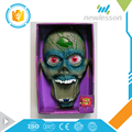 China supplier halloween party decoration doorbell zombie toys with lights music