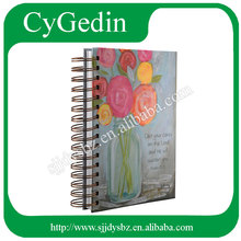 Printed Custom Wire-O Ring Spiral Notebook