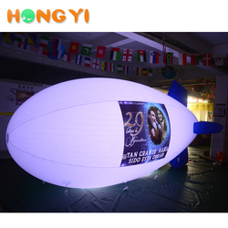 Outdoor Sky Flight Advertising LED Remote Control Airship, Custom Size Print Logo Airship Balloons For Sale