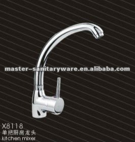 sanitary ware brass kitchen faucet mixer X8118