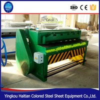 hydraulic pressure 4m manual sheet metal cutting machine