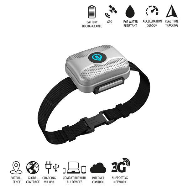 Unique Design Low Battery Alarm Micro GPS Transmitter