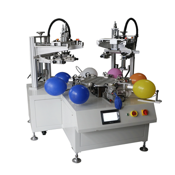 Automatical Four colors Ballon screen printing machine