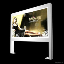 Outdoor Advertising Bus Stop Lightbox for Car Sign and double sided led lightbox