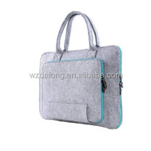 Felt Handbag Sleeve for 13 Inch Apple iPad Macbook Air/Pro, Laptop, Notebook, Netbook Premium Gray Case Cover for Computer