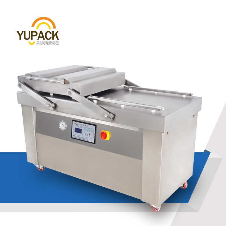 DZ600/2S vacuum sealer packaging machine with double chamber