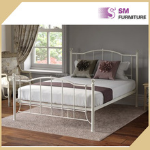 Italy modern wrought iron metal home beds frame to sale