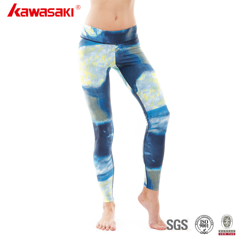 Wholesale Custom Made Sublimation Print Womens Sexy Compression Yoga Pants