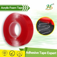 high adhesive plastic sticker sheet thin foam tape