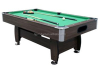 Stock retail MDF 7ft ball return system Billiard Pool table