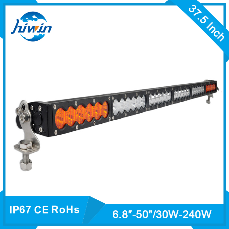 Hiwin Pick Up Head Lamp 180w Led 4x4 Remote Light 2 Row Amber Led Offroad Light Bar YP-855