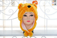 Top level best sell plush soft baby hat toy