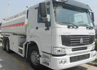 Hot sale HOWO 6*4 chassis, CIMC LINYU 15-25m3 fuel tanker truck