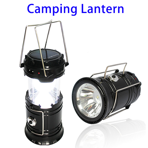 New Arrival Outdoor Emergency Solar Camping Light, Rechargeable LED Camping Lantern
