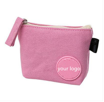 Simple coin purse female mini coin bag small wallet female zipper wallet cloth art