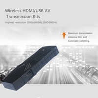 Hot Selling OEM/ODM Wireless HDMI USB Transmitter receiver Kit