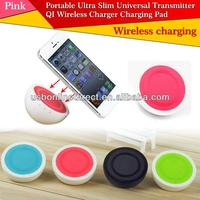 New Portable Universal QI Wireless Charger Charging Pad for iphone sumsung htc smart phone