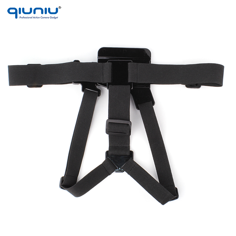 Quick Release Adjustable Single belt Chest Harness Belt Strap Mount For GoPro Hero 4/3/2 Xiaomi yi Camera