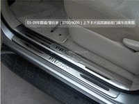 prado body kit bumper side step