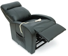 Leather Recliner remote control Reclining lift chair leather