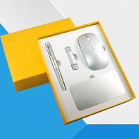 2.4G wireless keyboard and mouse, gift sets, slim design, different color for choose