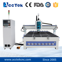 Automatic cnc tool change router engraving cutting machine AKM2030 / best aftersale cnc 3d letter carving machine