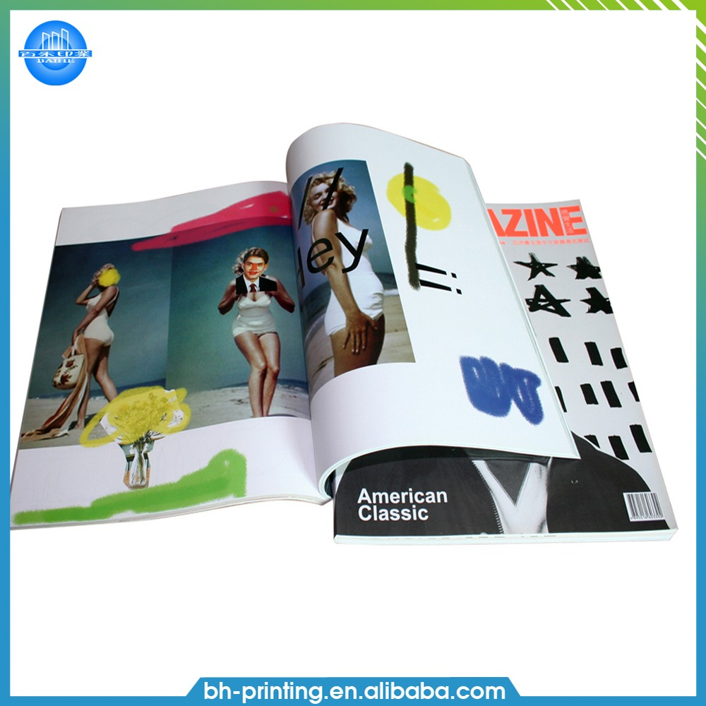 High quality custom coloring softcover book printing