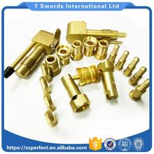 Special CNC turning Brass parts,CNC Machining Parts,Small OEM precision brass machined parts Passed ISO