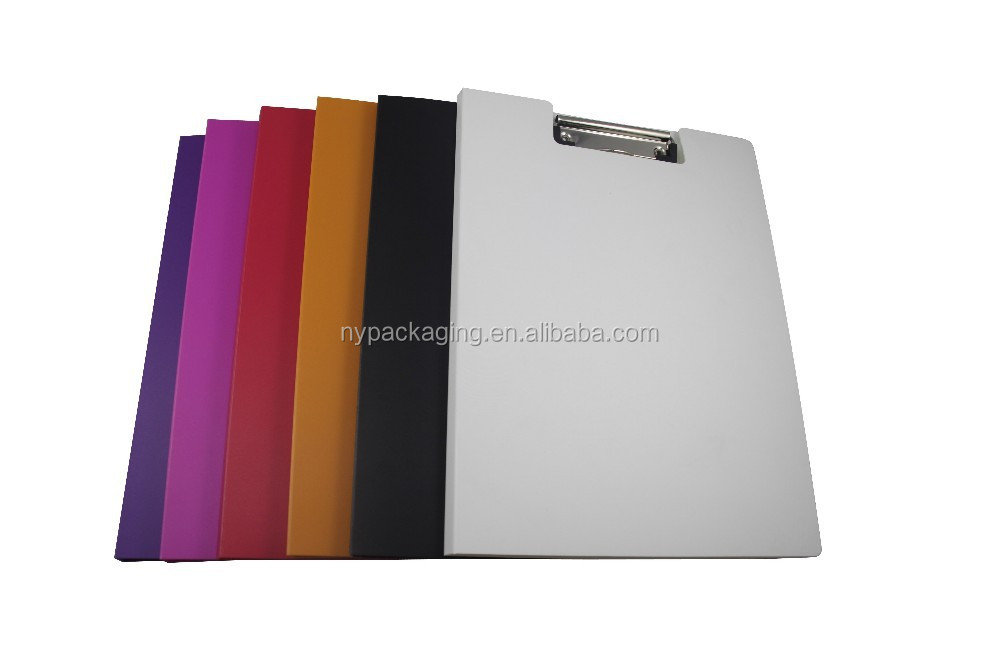pp plastic material clipboard A6/ A5 /A4 writing paper file