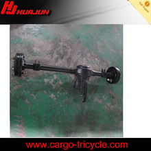 gas scooter motorcycle/three wheel motorcycle trike rear axle with booster