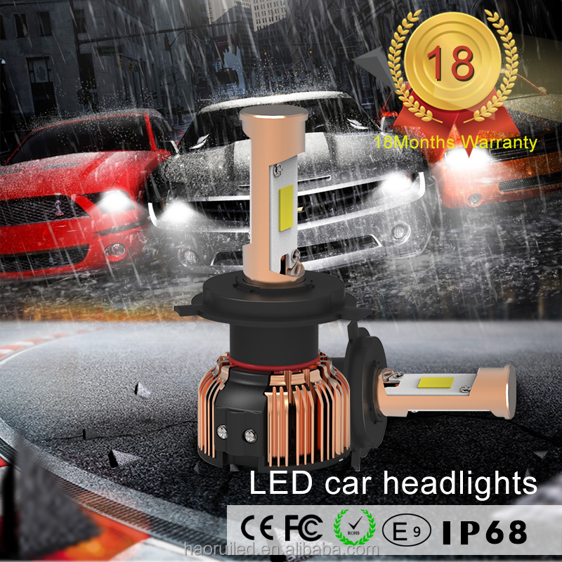 high quality car parts , led h4 car light replace your old halogen lamp 30w 5000 lumen for each bulb 9~32v DC