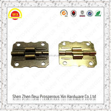 Shenzhen furniture hardwares small hinges for wooden box