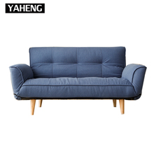 China living room furnitures two seats sofa cum bed