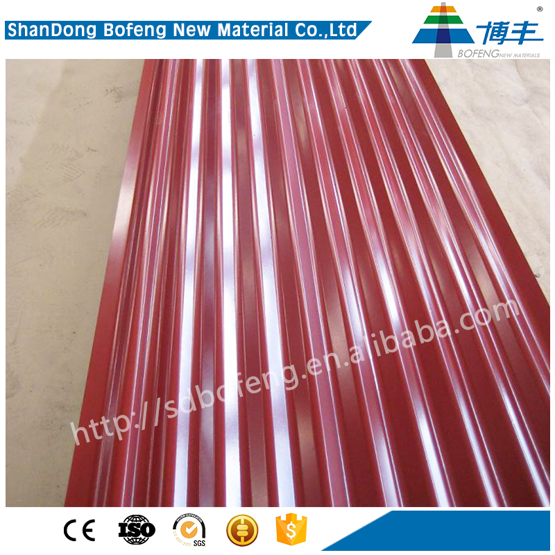 easy-clean competitive price cheap metal roofing sheet