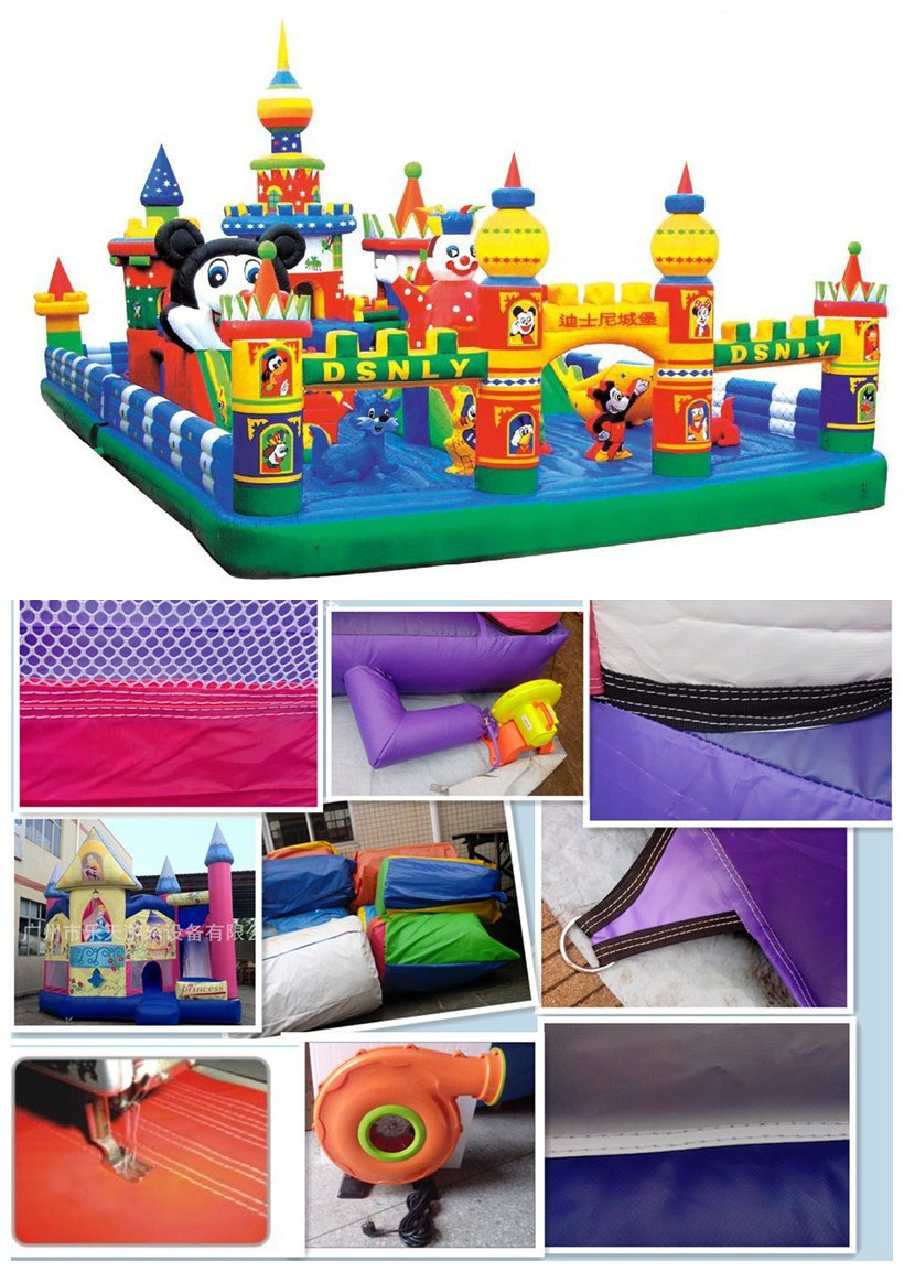 castle design inflatable toy LT-2130C