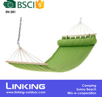 Folding Garden Hanging Hammock Swing Bed