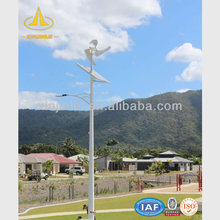 Wind and Solar Power Light Steel Pole