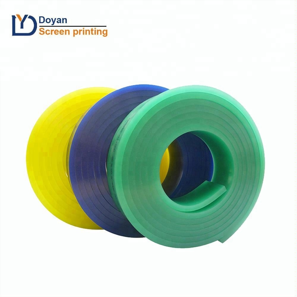 Economicol and partical screen printing squeegee rubber
