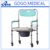 Hospital medical walker with seat mobility aids