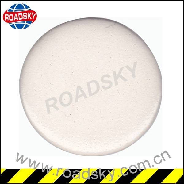 White Traffic Signs Reflective Line Marking Paint