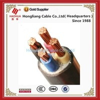 NO.3338- High Quality XLPE/PVC Insulate Underground Cable 0.6/1kV low voltage 16mm2 power cable