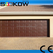 sectional automatic garage doors/full automatic folding garage/polyurethane insulated steel door