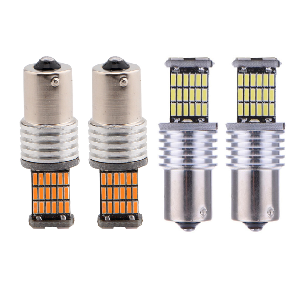 P21W Bright 4014 Chipsets Canbus 1156/BA15S 1157/BAY15D 3156 3157 7440 7443 car led turn signals Light
