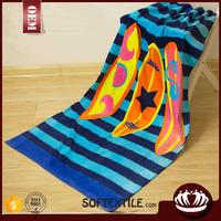 2015 new design fluffy print your own beach towels with low price