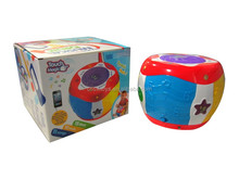 Early learning centre elc children kid light and sound drums musical toy