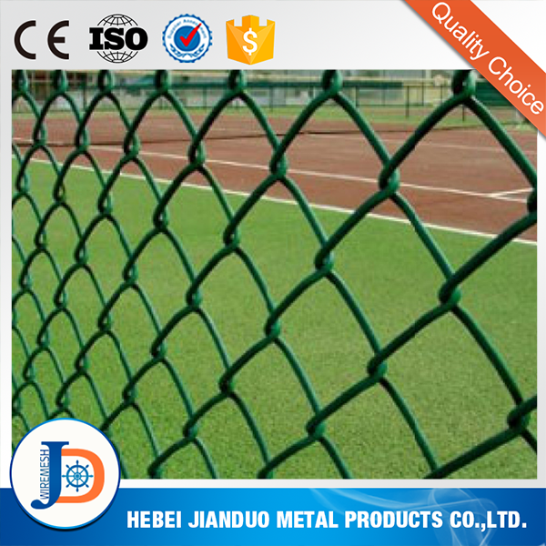 Alibaba wholesale galvanized 9 gauge chain link fence