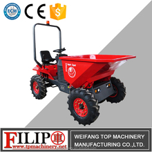 construction building machinery quick r dumping self loading mini site dumper