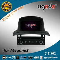 7 inch double din car dvd player for RENAULT Megane2 with GPS, MP3/MP4, Phonebook, USB, bluetooth, Wifi