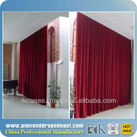 room divider backdrop curtain design